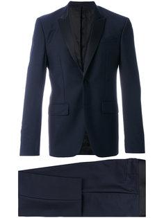 костюм-двйока с контрастными лацканами Givenchy