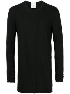 mesh insert longsleeved T-shirt Lost & Found Rooms