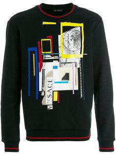 JP Collage print sweatshirt Versace