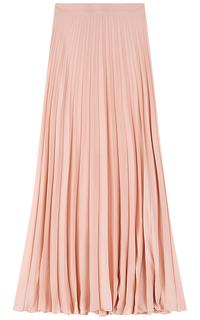 Розовая юбка в складку La Reine Blanche