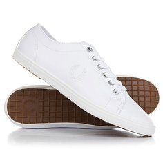 Кеды кроссовки низкие Fred Perry Kingston Leather White
