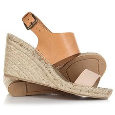 Сабо женское Soludos Bi-color Wedge Nude/Ivory