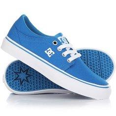 Кеды кроссовки низкие детские DC Shoes Trase Tx Blue