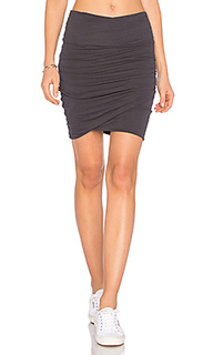 High waist wrap skirt - James Perse