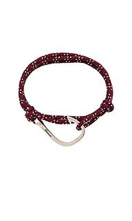 Веревочный браслет с застёжкой на крючок - Miansai