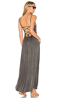 Criss cross tie back maxi dress - Chaser
