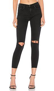Облегающие джинсы средней посадки candice - GRLFRND