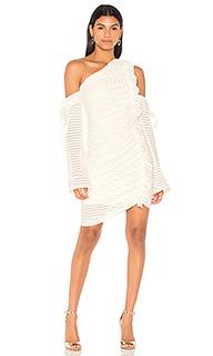 Avila one shoulder rouched dress - Rebecca Vallance