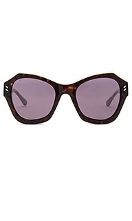 Крупные солнцезащитные очки - Stella McCartney
