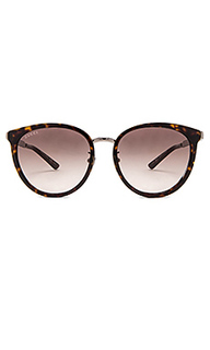 Round-frame acetate & metal sunglasses - Gucci