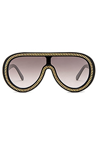 Chain aviator sunglasses - Stella McCartney