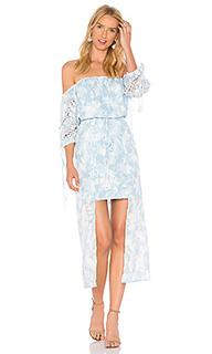 Платье со спущенными плечами morning frost - We Are Kindred