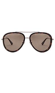 Солнцезащитные очки авиатор - Gucci