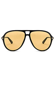 Acetate aviator sunglasses - Gucci