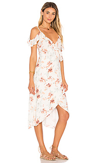 Innocence wrap midi dress - MINKPINK
