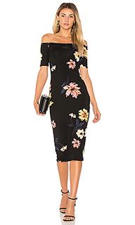 Платье со спущенными плечами jagger - Rachel Pally