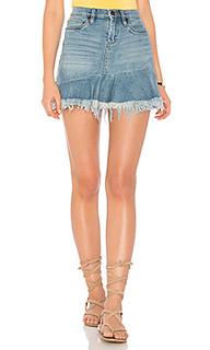 Потертая мини юбка - BLANKNYC [Blanknyc]