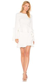 El chino flare sleeve mini dress - Rebecca Vallance