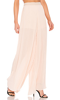 Pleated palazzo pants - Endless Rose