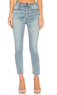 Укороченные джинсы высокой посадки originals - RE/DONE