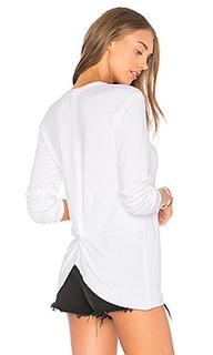 V neck knot back pullover - Stateside