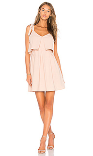 Ribbon tie flare dress - J.O.A.