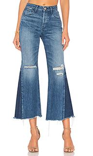 Укороченные джинсы с клиньями higher ground - 3x1