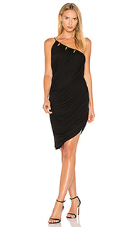 One shoulder draped dress - Halston Heritage