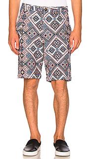 Ethnic print shorts - CLOT