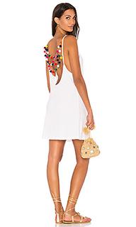 Mini pom pom dress - Pitusa