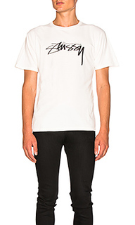 Футболка smooth stock - Stussy