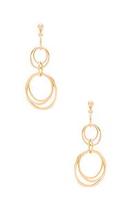 Multi ring earrings - Ettika