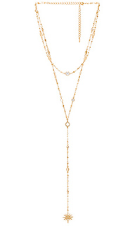 North star layered lariat - Ettika