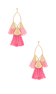 Tri tassel earrings - Ettika