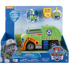Машина-трансформер Роки со звуком и светом, Щенячий патруль, Spin Master