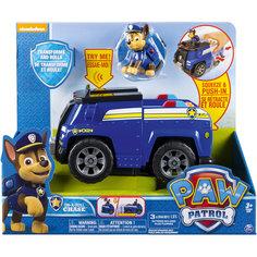 Машина-трансформер Чейз со звуком и светом, Щенячий патруль, Spin Master