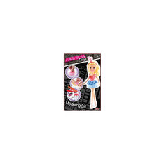 Набор для творчества с пластилином Fashion Dough и куклой Блондинка в голубой юбке Toy Target