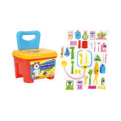 """Игровой набор """"Маленький Доктор"""", чемодан-стульчик, Shantou Gepai"""