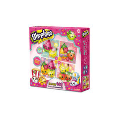 "Пазл 4 в 1 ""Tropical"", Shopkins, Origami"