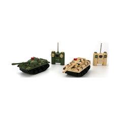 Набор из 2-х танков, радиоуправляемые, Играем Вместе