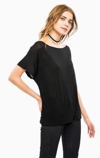 Черная футболка с короткими рукавами Diesel