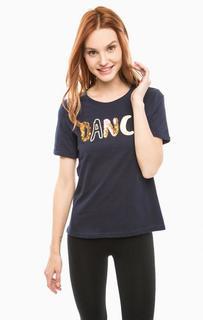 Хлопковая футболка с короткими рукавами Vero Moda