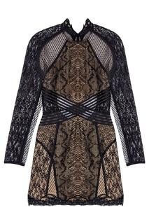 Платье с кружевом Alexander Wang