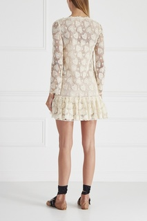 Хлопковое платье Miu Miu