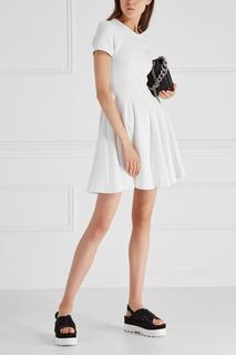 Однотонное платье Miu Miu