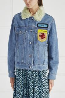 Куртка из денима Miu Miu