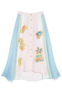 Льняная юбка Peter Pilotto