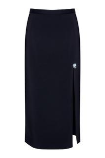 Однотонная юбка Christopher Kane