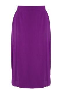 Шелковая юбка Gareth Pugh