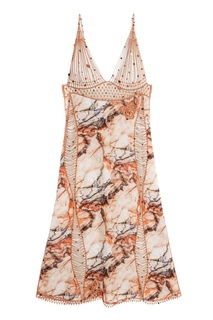 Шелковое платье Christopher Kane